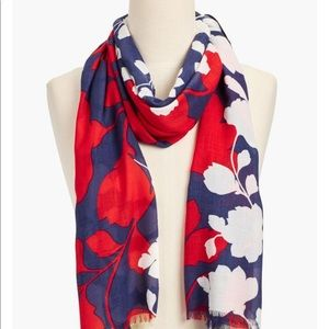 Talbots lovely floral scarf